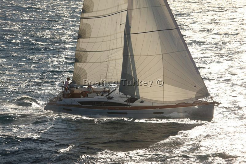 Jeanneau 53 Gocek Bareboat Bt E504 For Rent Boating Turkey