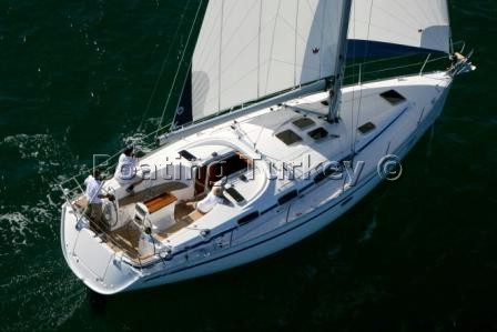 Bavaria 40 Cruiser Sailing Turkey