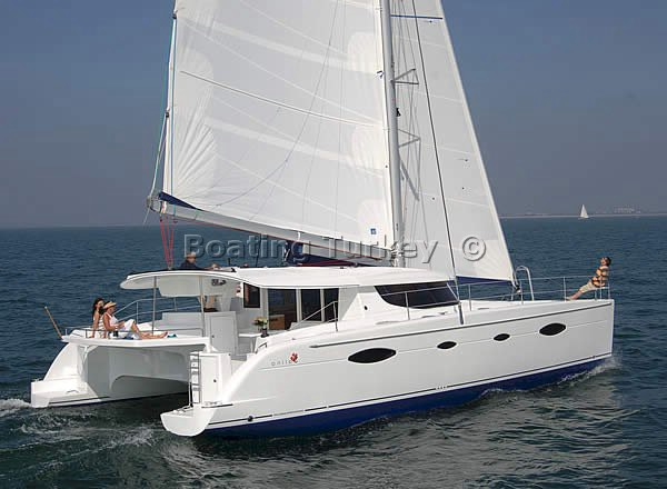 Salina 48 Catamaran Rentals Turkey