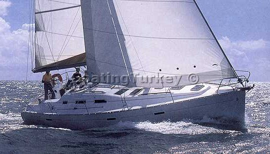 Oceanis 393 Boat Sailing Turkey