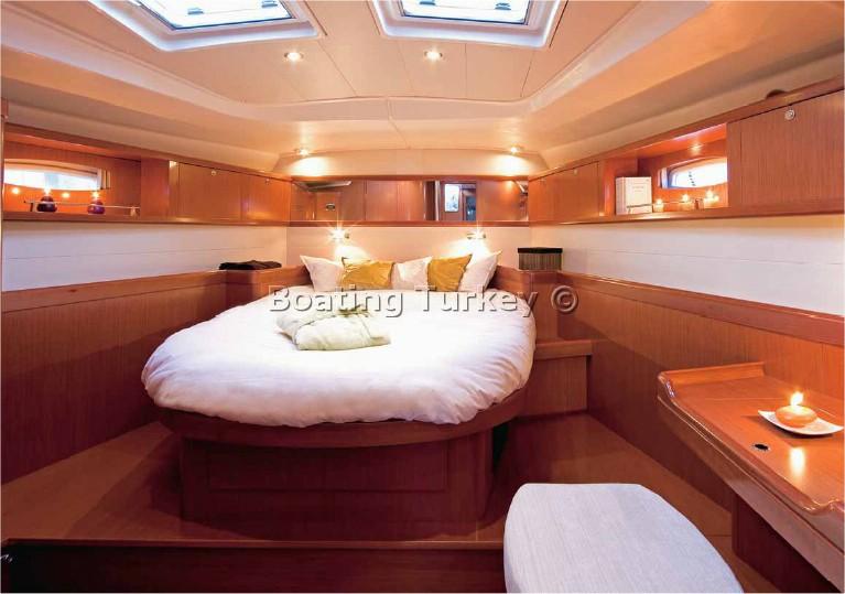 BT-L502 Beneteau Oceanis 54 For Rent Turkey Bodrum Marmaris Gocek
