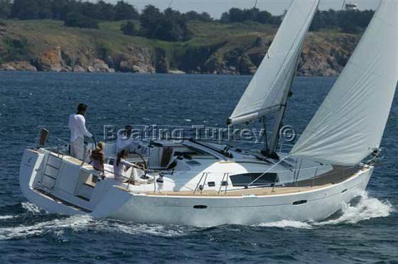 Oceanis 46 Yacht Charter Bodrum